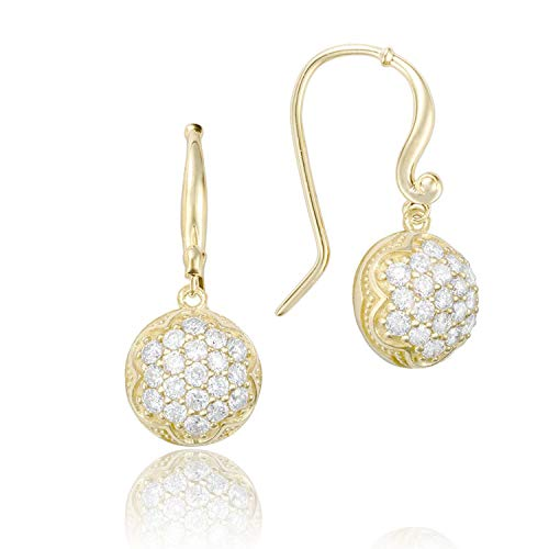 Tacori SE205Y 18K Yellow Gold Diamond Sonoma Mist Earrings (0.80 cttw, H-I Color, I2-I3 Clarity)