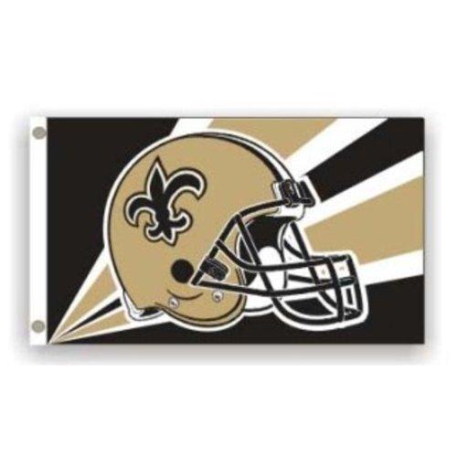 NFL New Orleans Saints 3 by 5