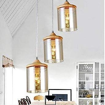 Lámparas modernas Lámparas de techo Lámpara de araña de cristal colgante Lámparas de dormitorio IKEA 3C ce Fcc Rohs para sala de estar Dormitorio: Amazon.es: Iluminación