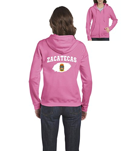 NIB Mexico Flag State of Zacatecas Womens Sweaters