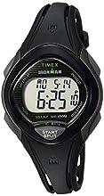 Timex Women's TW5M10300 Ironman Sleek 30 Black Resin Strap Watch