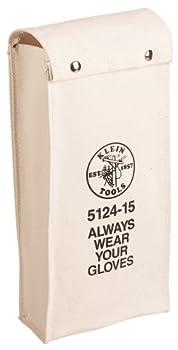 Klein Tools 512417 No. 10 Canvas Glove Bag, 17-Inch
