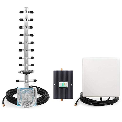 oster for Home and Office - Boost Verizon AT&T T-Mobile Sprint 2G 3G Voice Signal by 1900MHz Band 2 Cellular Repeater Amplifier Kit with High Gain Panel/Yagi Antennas ()