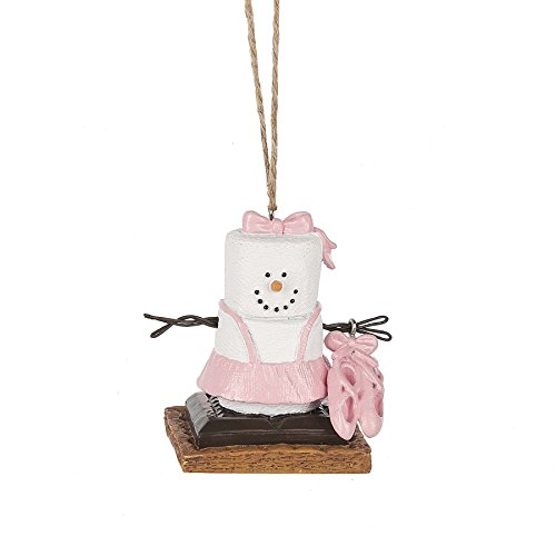 2017 S'mores Original Ballet Slippers Ornament