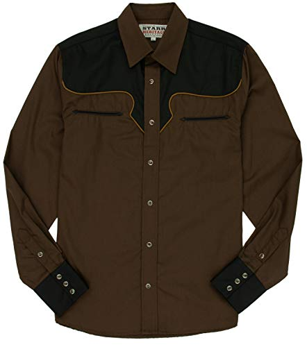 STARR Heritage Embroidered Long Sleeve Western Snap Shirt - SHC006 ()