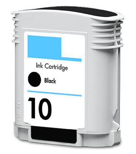 HouseOfToners Remanufactured Ink Cartridge Replacement for HP 10 C4844A (1 Black)