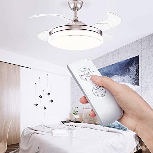 YLX Universal Luz de ventilador de techo Interruptor de control de ...