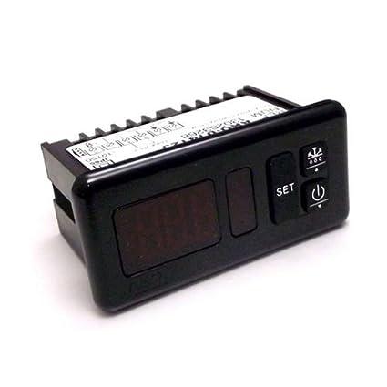 Termostato Regulador digital Ako Modelo d14123 tipo 14123 a 230 V con sonda