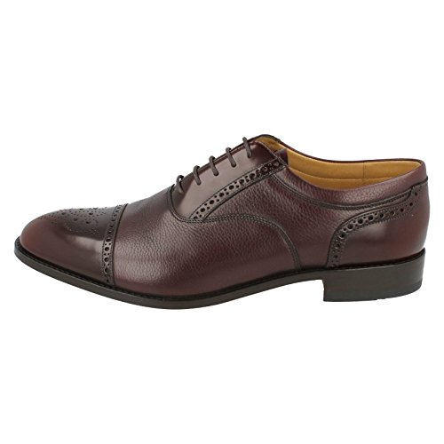 9 Bordeaux 5 Rouge homme UK Richelieu Loake 7qCwSAfngA