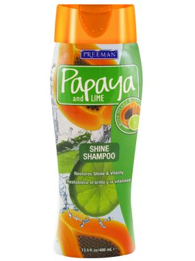 Price comparison product image Freeman Papaya and Lime Overboard Shine Shampoo 13.50 oz (Pack of 3)