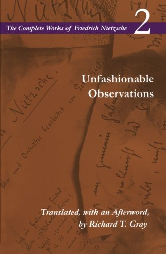 Unfashionable Observations: Volume 2 (The Complete Works...