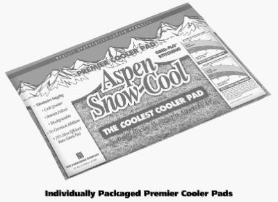 PPS PACKAGING 5IP 24x36 Aspen Cooler Pad