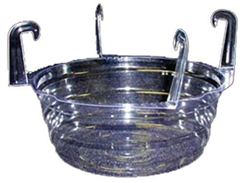 Curtis Wagner Plastics Plant Hanging Basket Drip Pans (5-pack) - Clear, Round (Diameter = 10