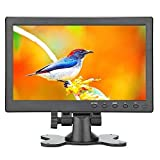 Product review for Lancevon- 10.1 inch HDMI VGA HD LCD Monitor display screen ; Work for raspberry pi 3 monitor screen /for CCTV security - 1024x600 Video Audio inputs -Build in speaker