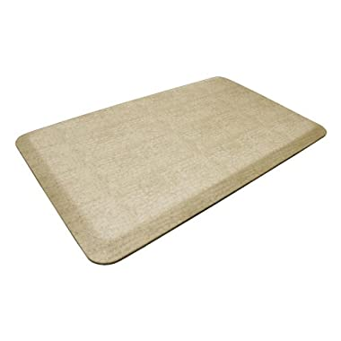 NewLife by GelPro Designer Comfort Mat, 20 by 32-Inch, Pebble Wheat