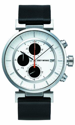 Issey Miyake SILAY003 Mens White W Chronograph Watch