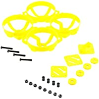 QWinOut Doinker 80 Kit DIY Mini Racing Drone 80mm Plastic Frame KIT (Yellow)