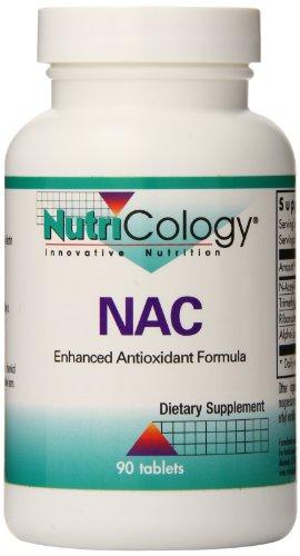 Nutricology Nac Enhanced Antioxidant Formula, 90 Tablets