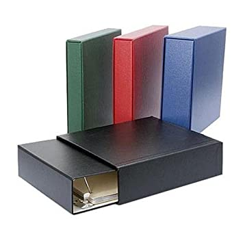 Incroyable Archival Methods 1.5u0026quot; Matching Three Ring Binder And Slip Case Set,  Holds 10u0026quot;