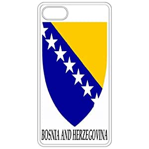 Bosnia And Herzegovina - Coat Of Arms Flag Emblem White Apple Iphone 5 Cell Phone Case - Cover
