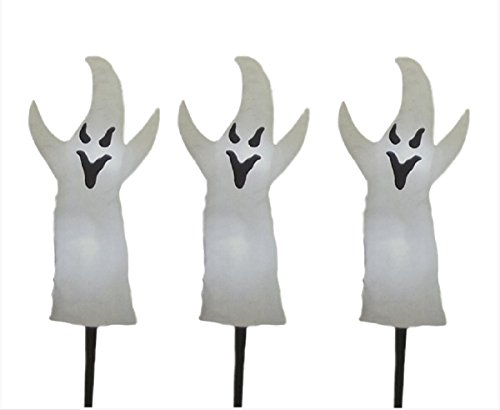 Rite Aid LED Lighted Ghost Yard Stakes Halloween -
