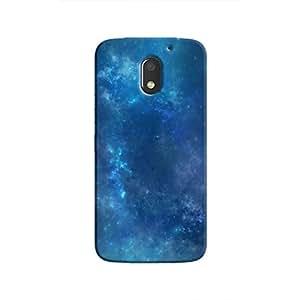 Cover It Up - Blue space Cloud Moto E3 Hard case