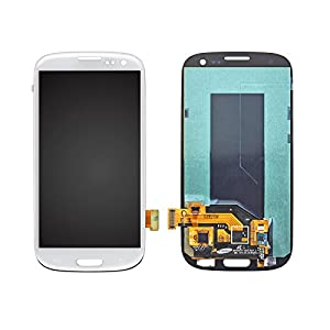 NovaMass White Full LCD Display+Touch Screen Digitizer Assembly Mobile Phone Repair Part Replacement for Samsung Galaxy S3 SIII GT-i9300