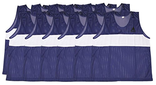 Select Scrimmage Vest (Pack 12), Youth, Blue ()