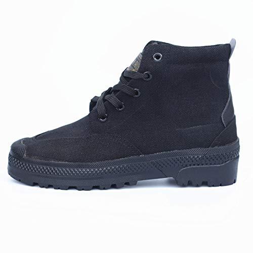 usura di uomo gomma alta resistente da camouflage antiscivolo C 38 all' allenamento scarpe e tela Rcnrycasual per scarpe Labor assicurazione Tqx51w8