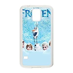 Samsung Galaxy S5 I9600 Phone Cases White Frozen DFRS6128591