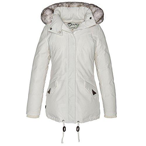 Schott NYC Jktfreya2w - Blouson - Femme Blanc