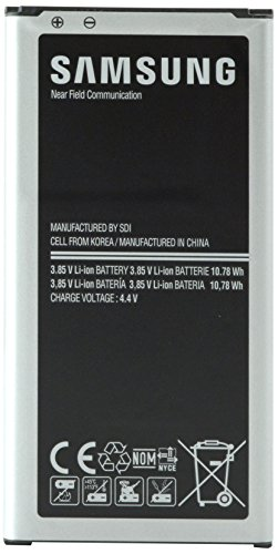 Samsung Galaxy S5 Standard Battery (2800mAh) EB-BG900BBU-FR NFC - Frustration-Free Packaging - Black