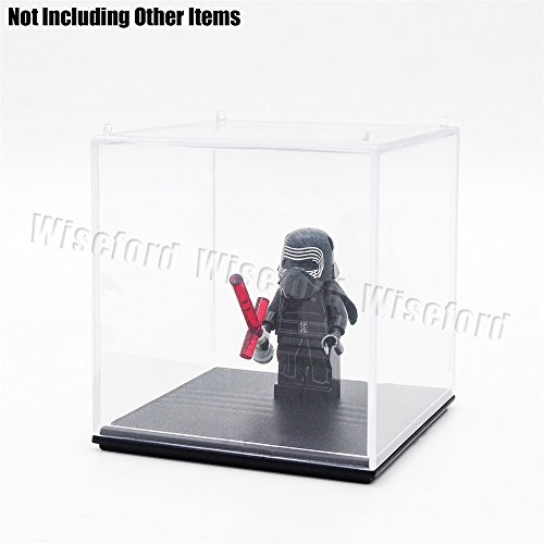 Tingacraft AcrylicDisplayCase/Box(2.6 x 2.6 x 2.6 inch) PerspexDustproofShowCase for 3.75 inch Action Figure Golf Ball Medal (Figurine Display Case Amiibo compare prices)