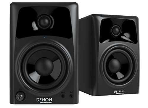 Denon DN-304S 4'' Studio Monitor Pair by Denon