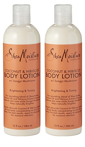 SheaMoisture Body Lotion - Coconut Hibiscus (2 PACK)
