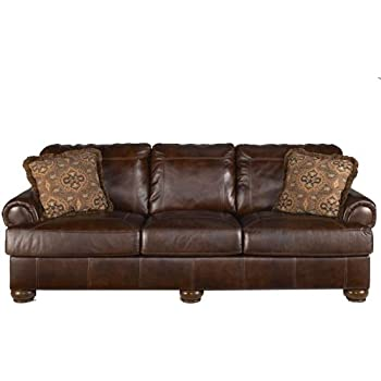 Amazon.Com: Rustic Walnut Axiom Sofa: Kitchen & Dining