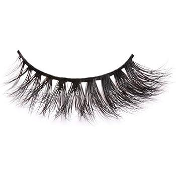 d0d0d61f8c4 Arimika Handmade Thick Wispy 3D Mink False Eyelashes For Makeup 1 Pair Pack  Style D11