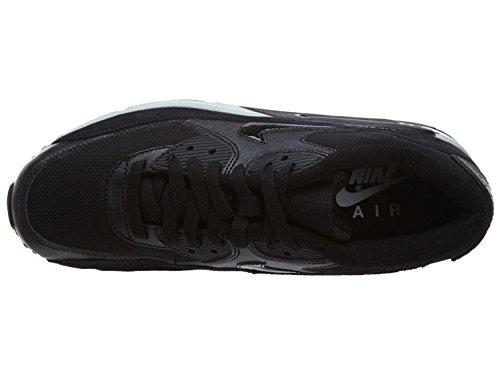 Nike Womens Air Max 90 Essential (black / black / wolf grey)-12.0