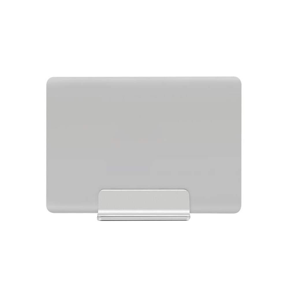 Naisidier Piedistallo del Computer Portatile Regolabile Stand Verticale tavolino di Alluminio Titolare Laptop for all Silver Laptop