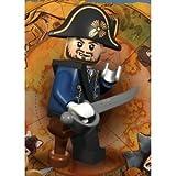 Hector Barbossa (Wooden Leg) Lego Pirates of the Caribbean Minifigure