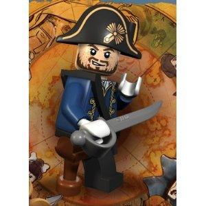 Hector Barbossa (Wooden Leg) Lego Pirates of the Caribbean Minifigure -