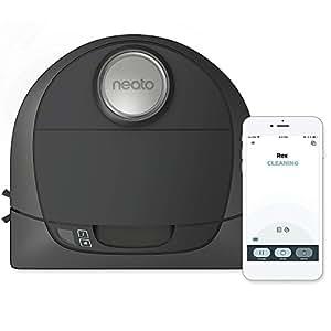Neato Robotics Botvac D5 Connected - Robot Aspirador compatible con Alexa para Hogares con Mascotas – Base de carga automática, conexión Wi-Fi & App