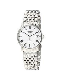 Longines Elegant White Dial Automatic Ladies Steel Watch L4.809.4.11.6