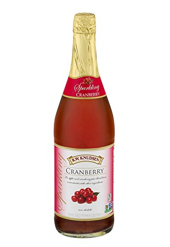 R.W. Knudsen Sparkling Cranberry Juice 25.4 oz. (Pack of 2)