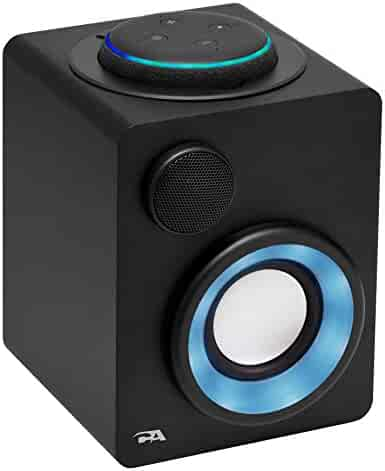 Cyber Acoustics Portable Alexa Docking Speaker for Amazon Echo Dot 3rd Gen. with Built-in Rechargeable Battery