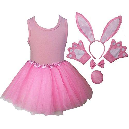 Kirei Sui Kids Costume Tutu Set 120 Pink Bunny
