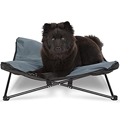 Paws & Pals Elevated Pet Bed for Dogs & Cats Outdoor Indoor Camping Raised Cot