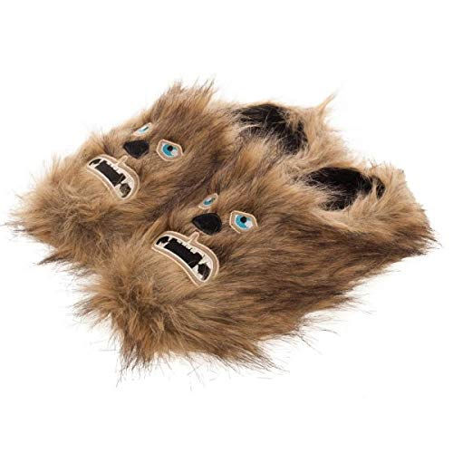 Adult Star Wars Chewbacca Scuff Slippers Large