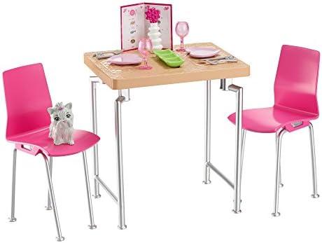 Barbie Mattel DVX45 Inneneinrichtung: Esszimmer