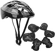 SunshineFace 7pcs Adult Roller Skating Protection Gear Set Knee Pads+ Elbow Pads+ Gloves+ Helmet